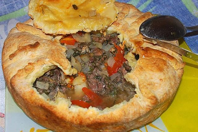 Любимый пирог с гречкой, мясом и овощами. Неймоверная вкуснятина, попробуйте!