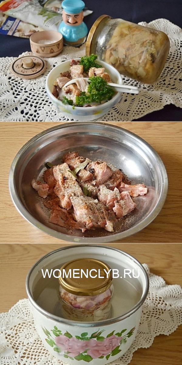 Тушенка из курицы - палочка-выручалочка