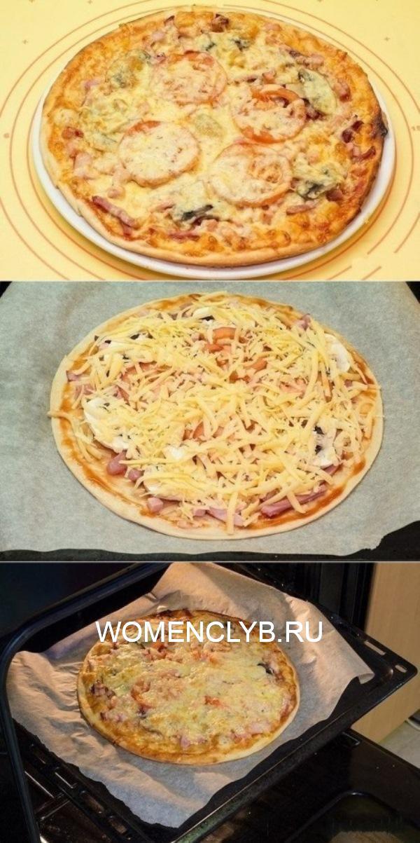 По настоящему мое коронное блюдо - пицца. Тонкая, с хрустящей корочкой и просто обалденным вкусом! Съедается все в мгновение ока.