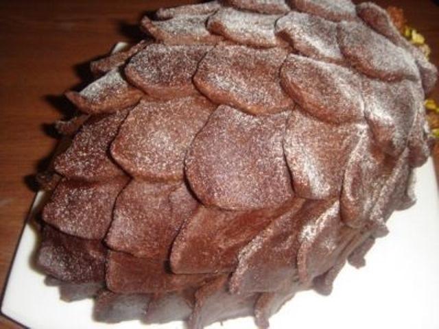 """Торт """"Шишка""""! Попробовав хоть раз эту вкуснятину, станет вашим ЛЮБИМЫМ десертом на всю жизнь."""