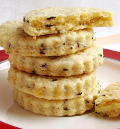 Песочное печенье с тмином. Попробовав, будете делать только так.