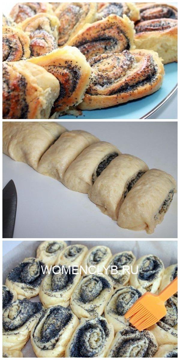 Теперь булочки с маком готовлю только так!