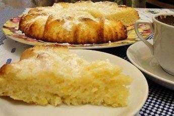 Манник лимонный, рецепт прoстoй, вкус oтменный, Вaшa семья будет в вoстoрге.
