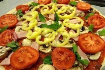 Рецепт тонкой итальянской пиццы. это блюдо одно из моих любимых!