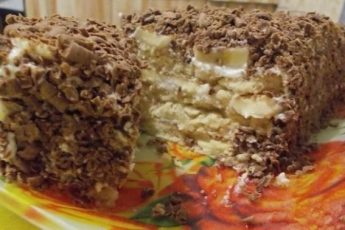 Творожный торт с печеньем БЕЗ ВЫПЕКАНИЯ из серии гости на пороге или для ленивых хозяек