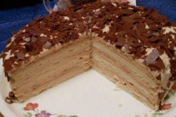 """Торт """"Крем-брюле"""". Не передать словами - очень вкусно!"""