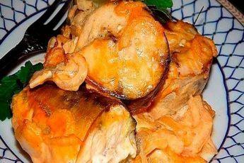 Cкумбрия запечённая в горчичном соусе! Муж и дети слезно просят исполнить на бис.