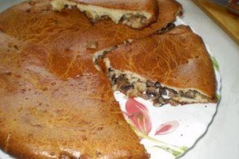 Пирог с грибами — рецепт с польского сайта, безумно вкусный