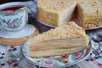 РЕЦЕПТ МОЕЙ СВЕКРОВИ: Торт «Наполеон»