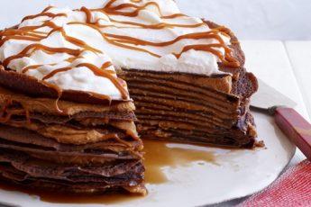Рецепт невероятно вкусного Блинного Торта Зебра за 2 минуты. Вкуснее мороженого!