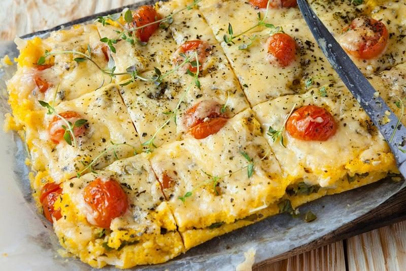 tasty-polenta-with-cheese-on-the-board